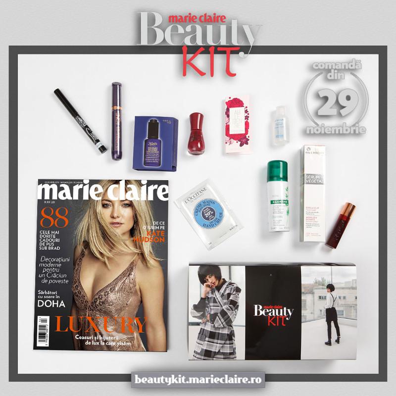 Promo pentru Marie Claire Beauty Kit disponibil din 29 Noiembrie 2016 ~~ Pret: 69 lei