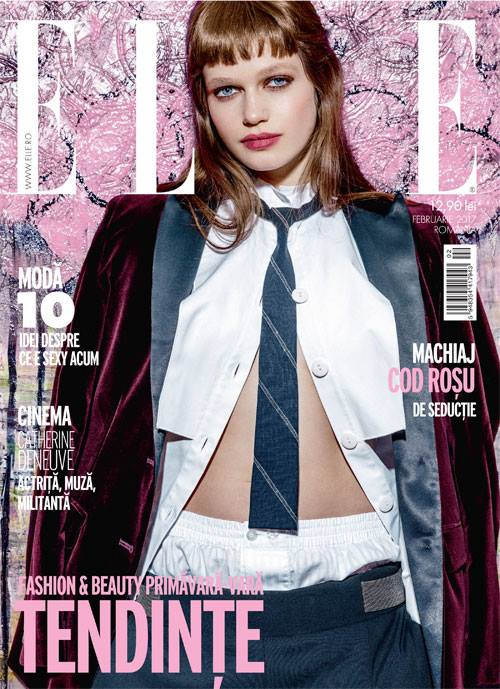 ELLE Romania ~~ Tendinte Fashion & Beauty Primavara/Vara 2017 ~~ Februarie 2017