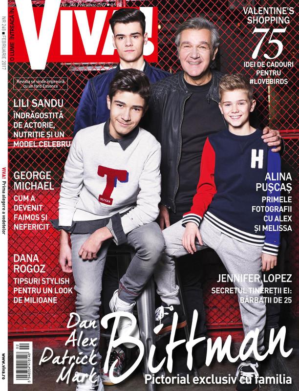 Revista VIVA! ~~ Coperta: Dan Bitman ~~ Februarie 2017