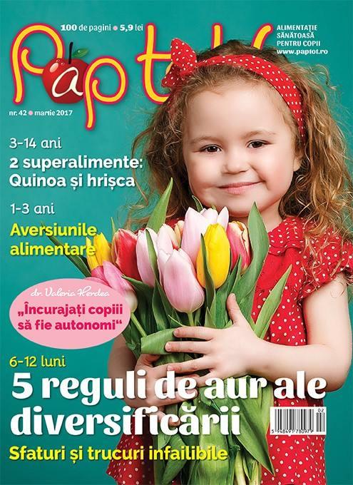 PAP TOT! ~~ Incurajati copiii sa fie autonomi ~~ Martie 2017 ~~ Pret: 6 lei