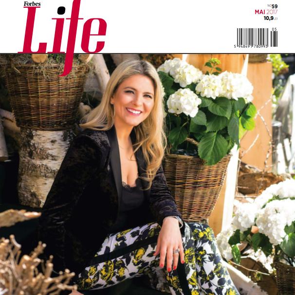Forbes Life Romania ~~ Coperta: Andreea Mihai ~~ Mai 2017