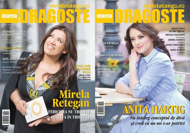 Tango - Marea Dragoste ~~ Coperta dubla: Mirela Retegan ~~ Anita Hartig ~~ Mai 2017