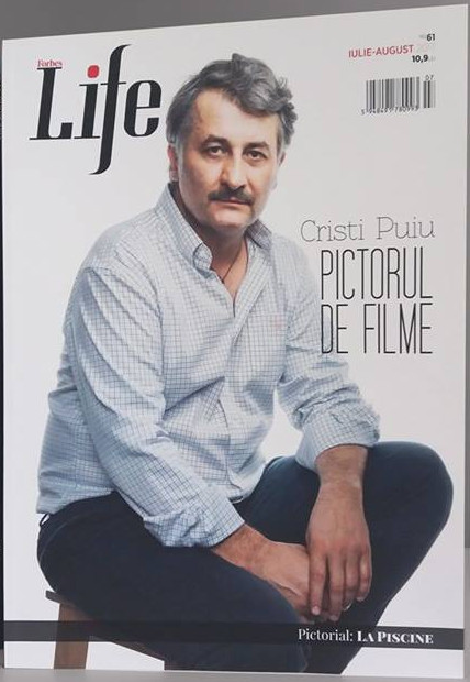 ForbesLife Romania ~~ Coperta: Cristi Puiu ~~ Iulie-August 2017