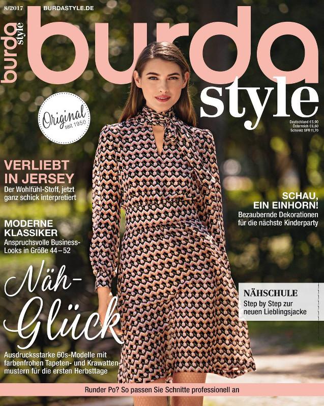 Burda Style Germania ~~ August 2017