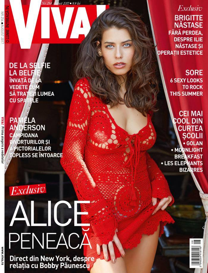 VIVA! ~~ Coperta: Alice Peneaca ~~ August 2017