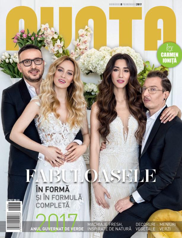 NUNTA by Carmen Ionita ~~ Coperta: Fabuloasele ~~  Nr. 8 Primavara 2017 ~~ Pret: 19 lei