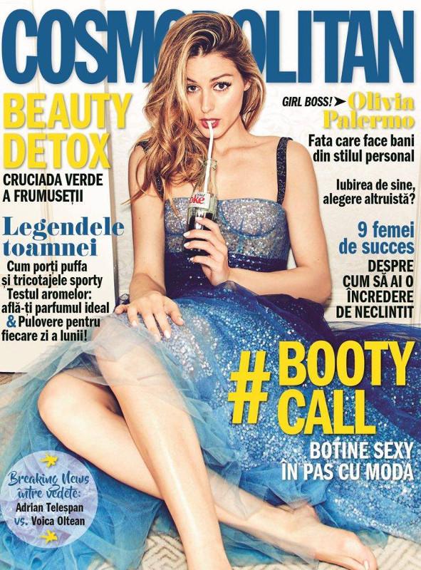 Cosmoplitan Magazine Romania ~~  Coperta: Olivia Palermo ~~ Noiembrie 2017