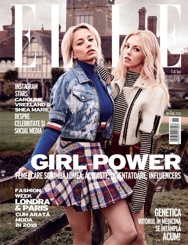 ELLE Magazine Romania ~~ Noiembrie 2017