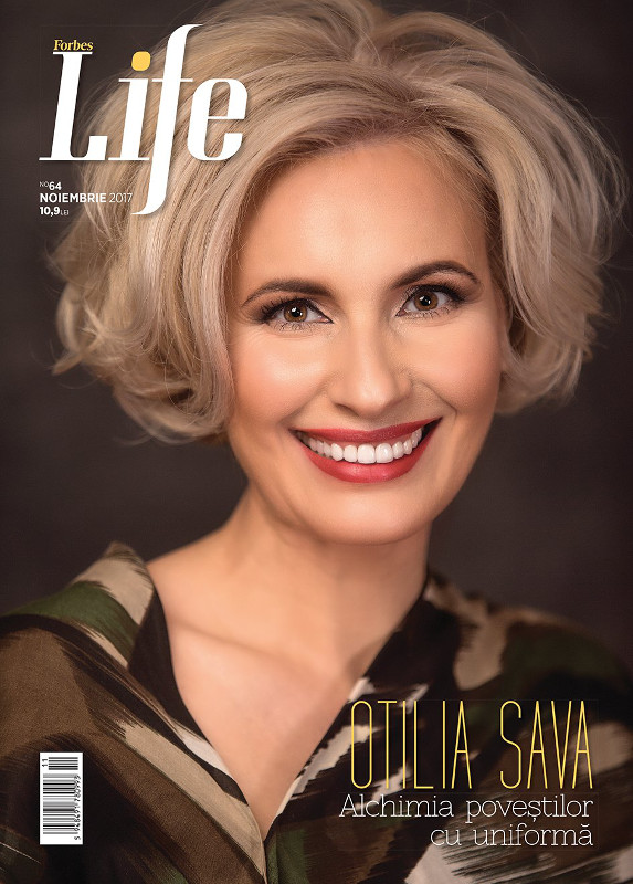 Forbes Life Romania ~~ Coperta: Otilia Sava ~~ Noiembrie 2017