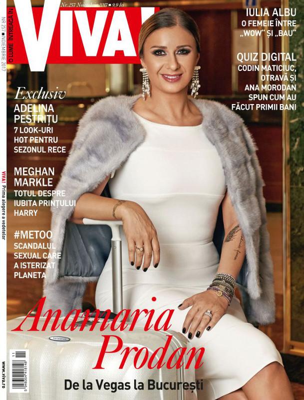 VIVA! ~~ Coperta: Anamaria Prodan ~~ Noiembrie 2017