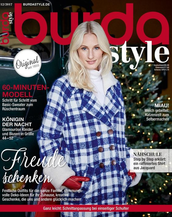 Burda Style Germania ~~ Decembrie 2017