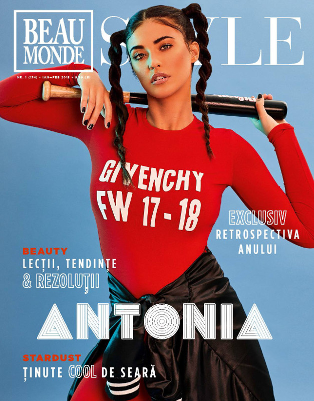 Beau Monde Style ~~ Coperta: Antonia ~~ Ianuarie-Februarie 2018