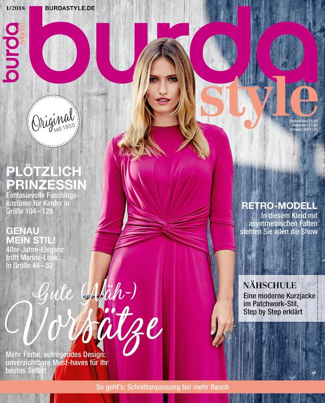 Burda Style Germania ~~ Ianuarie 2018