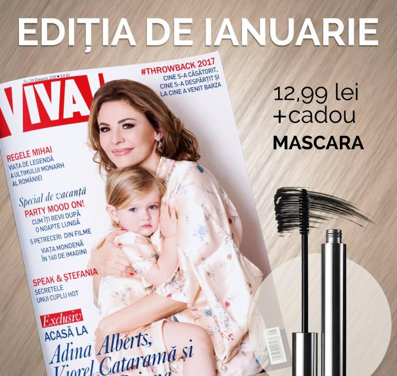 Promo pachet VIVA! de Ianuarie 2018 si mascara ~~ Pret: 13 lei