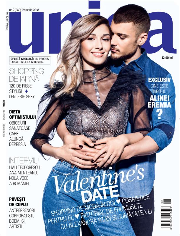 Unica ~~ Coperta: Alina Eremia ~~ Februarie 2018