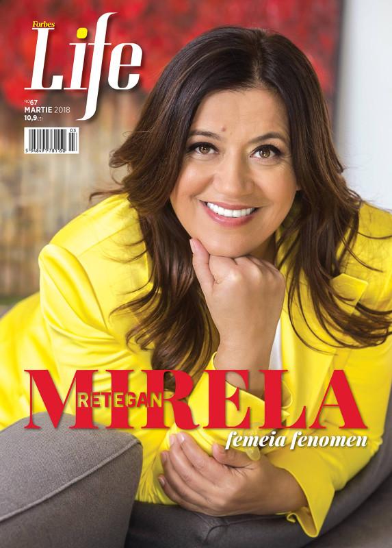 Forbes Life Romania ~~ Coperta: Mirela Retegan ~~ Martie 2018