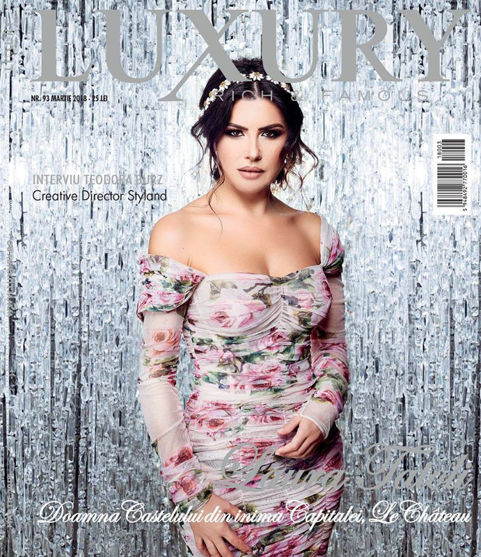 Luxury Magazine Romania ~~  Coperta: Laura Tatoli ~~ Martie 2018