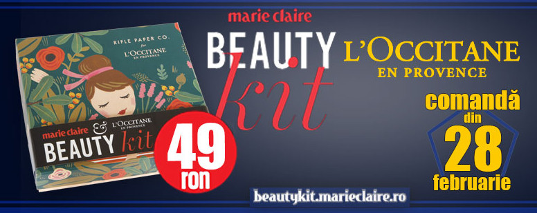 Marie Claire Beauty Kit ~~ Din 28 Februarie 2018 ~~ Pret: 49 lei