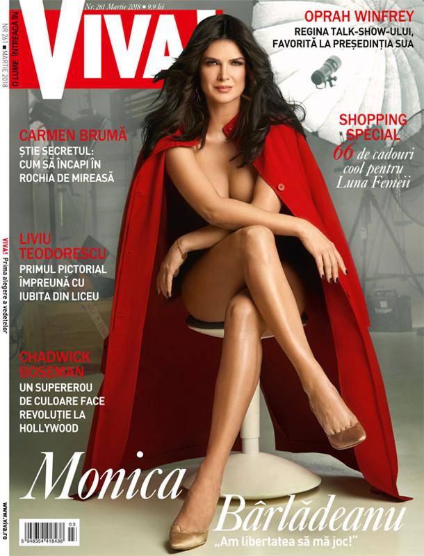 Revista VIVA! ~~ Coperta: Monica Barladeanu ~~ Martie 2018