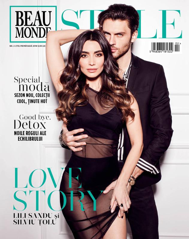 Beau Monde Style ~~ Coperta: Lili Sandu & Silviu Tolu ~~ Primavara 2018