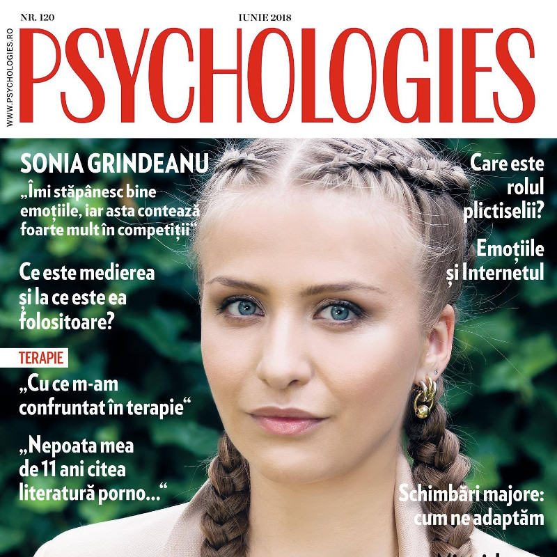 psychologies-sonia-grindeanPsychologies Magazine Romainia ~~ Coperta: Madalina Cjenea ~~ Iunie 2018u-iunie-2018