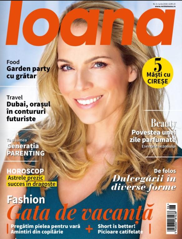 Revista Ioana ~~ Gata de vacanta ~~ Iunie 2018