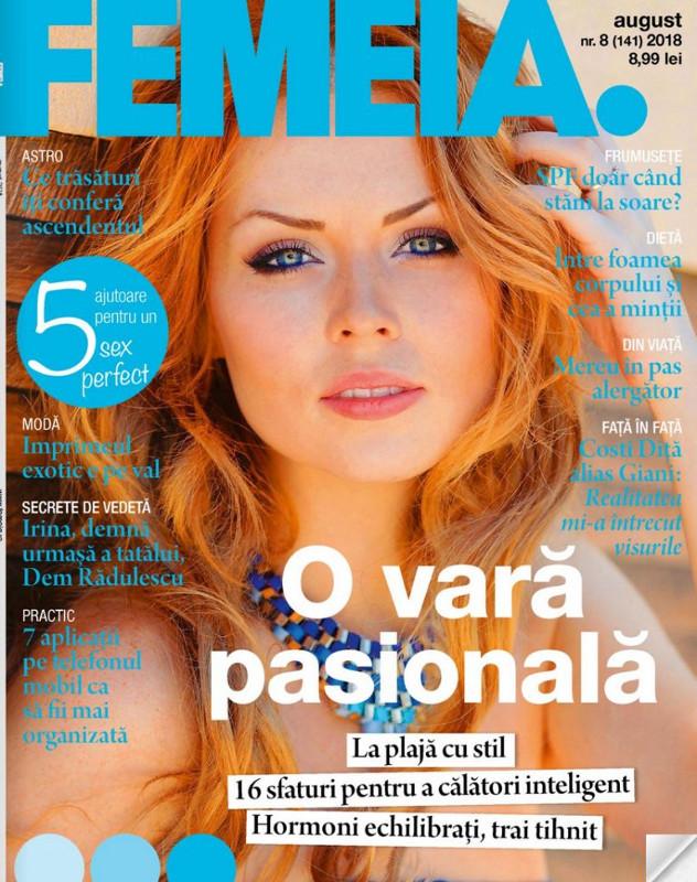 Revista FEMEIA. ~~ O vara pasionala ~~ August 2018