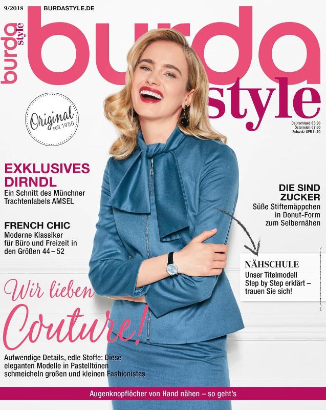 Burda Style Germania ~~ Septembrie 2018