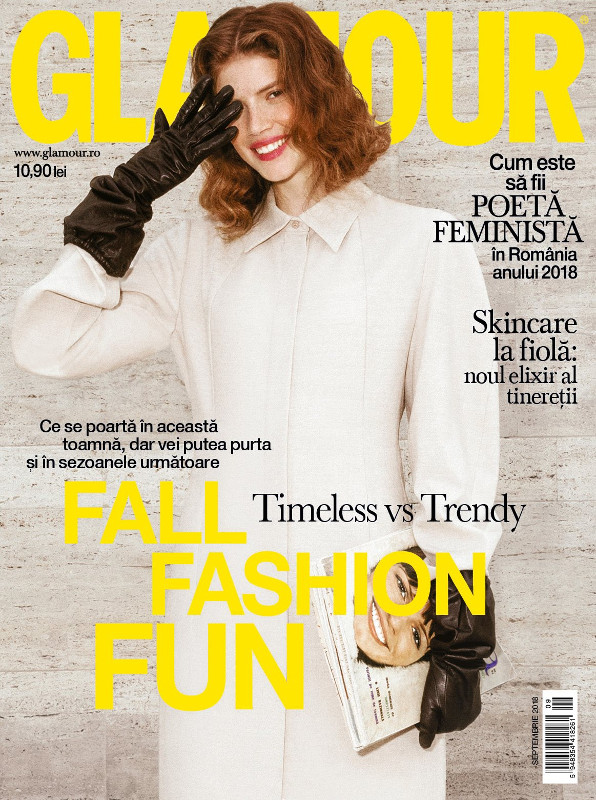Glamour Magazine Romania ~~ Fall Fashion Fun ~~ Septembrie 2018