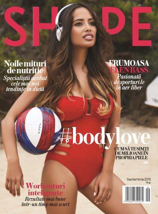 Shape Magazine Romania ~~ Coperta: Elen Bass ~~ Septembrie 2018
