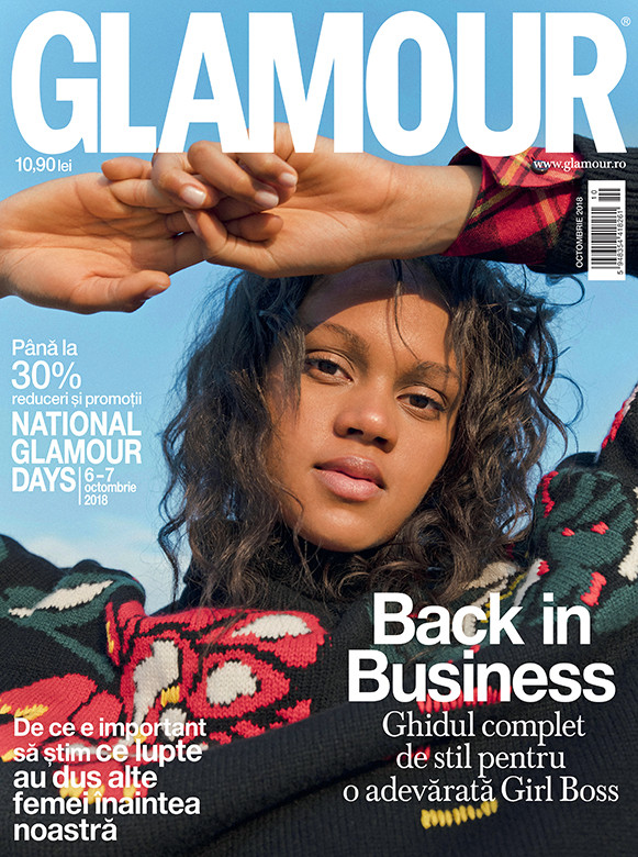 Glamour Magazine Romania ~~ National Glamour Days ~~ Octombrie 2018