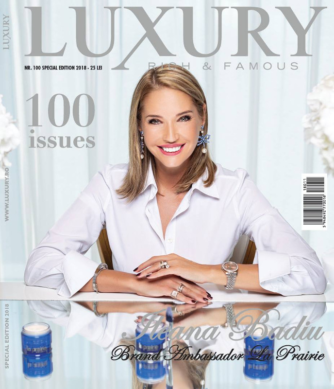 Luxury Magazine Romania ~~ Editie speciala nr 100 ~~ Coperta: Ileana Badiu ~~ Octombrie 2018