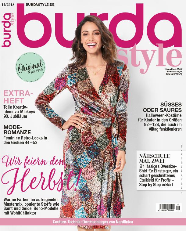 Burda Style Germania ~~ Noiembrie 2018