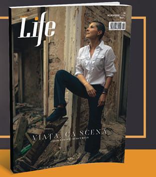 Forbes Life Romania ~~ Viata ca scena ~~ Noiembrie 2018