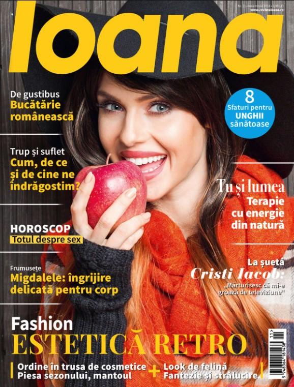 Revista IOANA ~~ Estetica Retro ~~ Noiembrie 2018