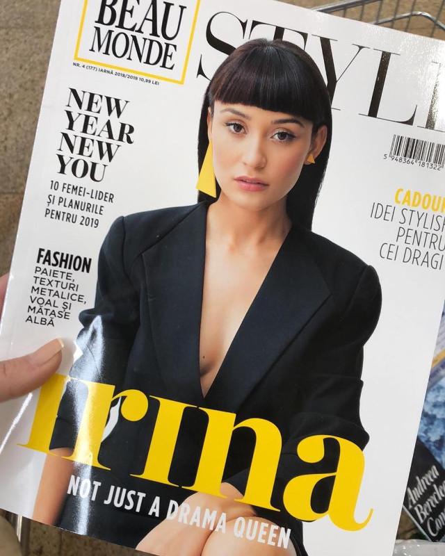 Beau Monde Style Romania ~~ Coperta: Irina Rimes ~~ Iarna 2018-2019