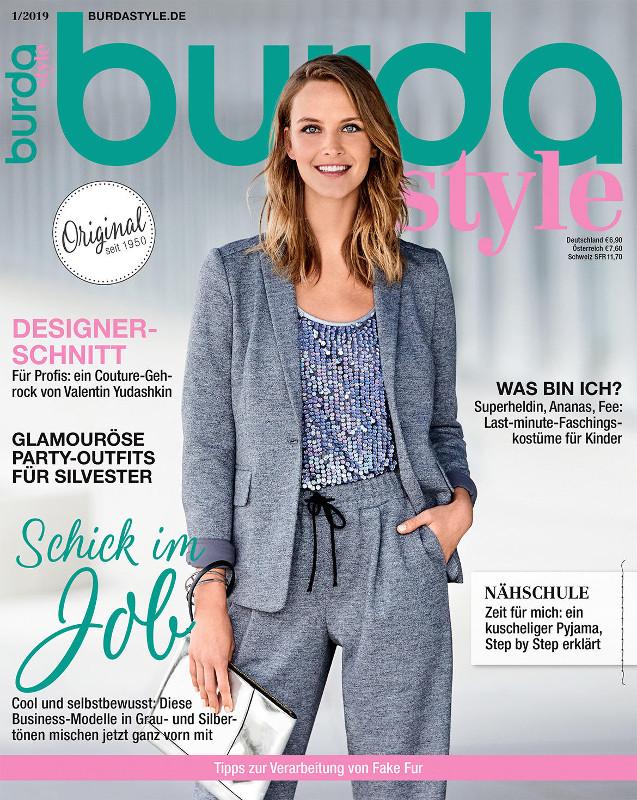 Burda Style Germania ~~ Ianuarie 2019