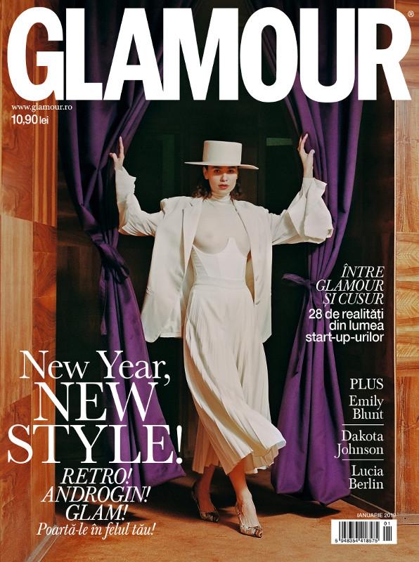 Glamour Magazine Romania ~~ New Year, New You ~~ Ianuarie 2019