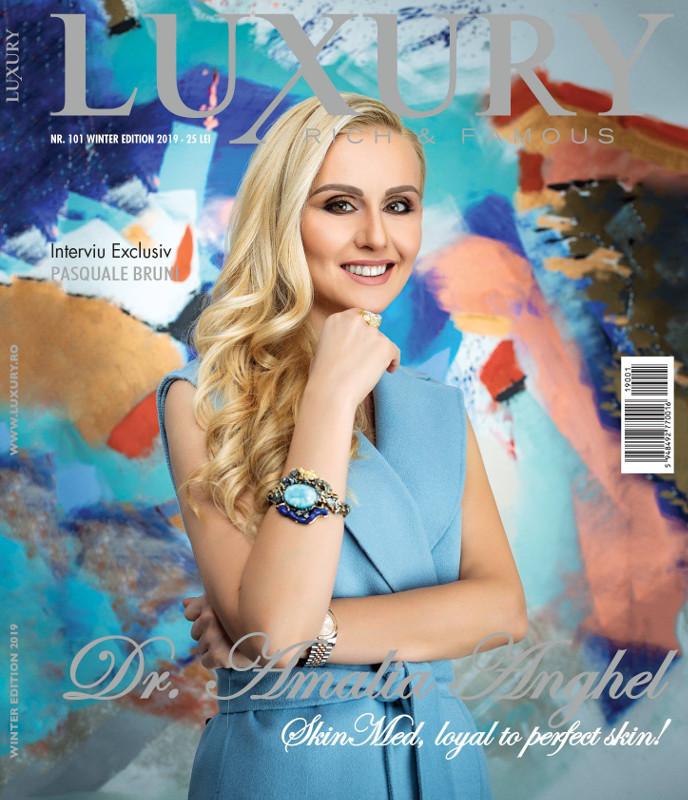 Luxury Magazine Romania ~~ Coperta: Amalia Anghel ~~ Iarna 2018-2019