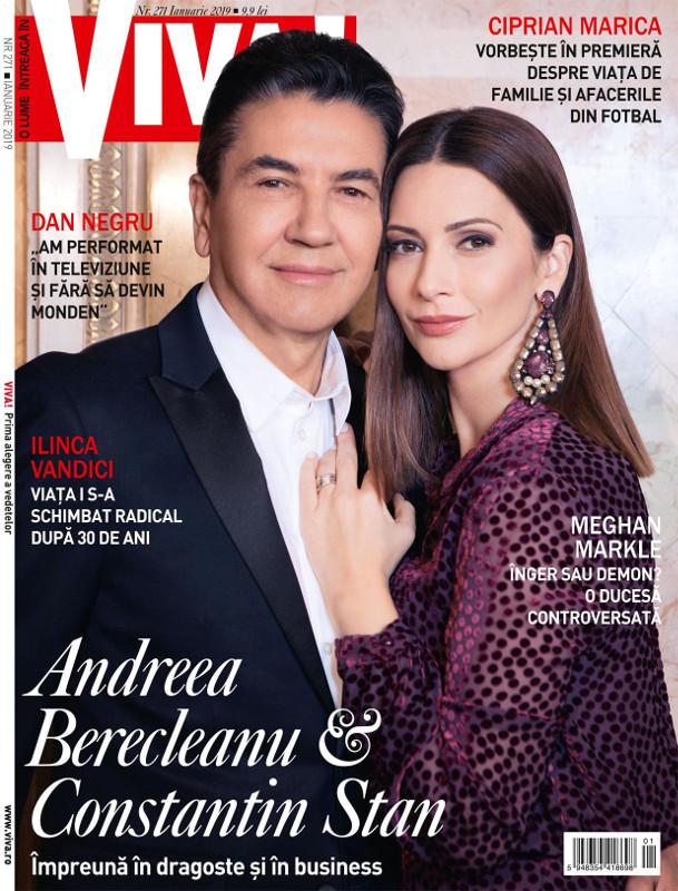 VIVA! ~~ Coperta: Andreea Berecleanu si Constantin Stan ~~ Ianuarie 2019