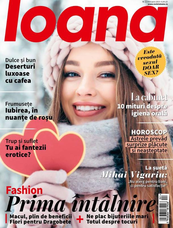 Revista IOANA ~~ Deserturi luxoase cu cafea ~~ Februarie 2019