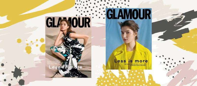 Glamour Magazine Romania ~~ Less is more ~~ Martie-Aprilie-Mai 2019