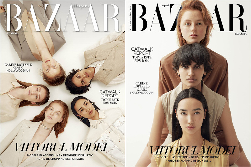 Harpers Bazaar Magazine Romania ~~ Viitorul Modei ~~ Martie 2019