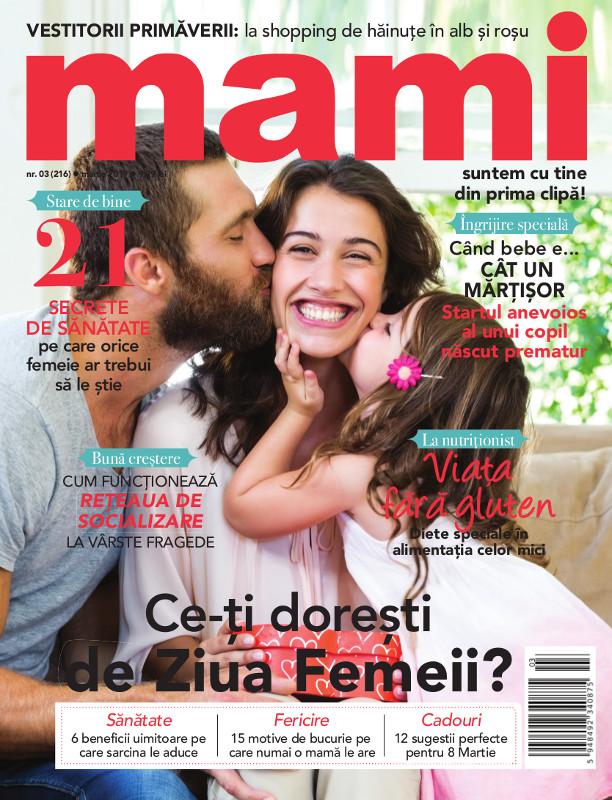 Revista MAMI ~~ Cum functioneaza reteaua de socializare la varste fragede ~~ Martie 2019 ~~ Pret: 10 lei