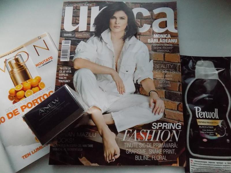 Pachet revista UNICA de Aprilie 2019 si inseturi: 13 lei