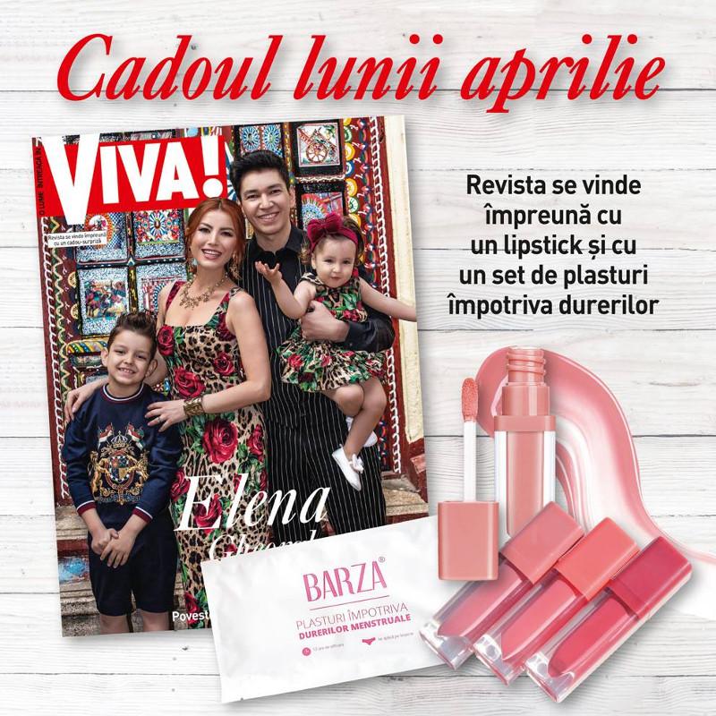 Promo editia de Aprilie 2019  a revistei VIVA! ~~ Cadou: ruj lichid Essence
