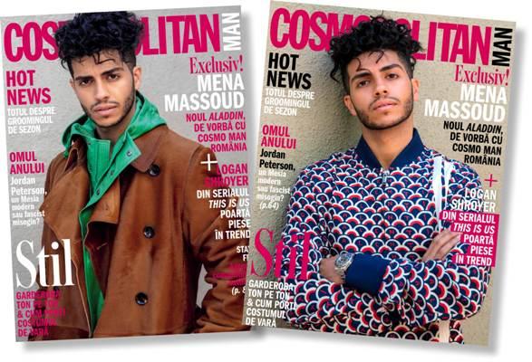 Cosmopolitan Man ~~ Coperta: Mena Massoud ~~ Aprilie 2019