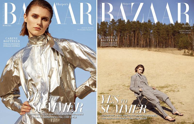 Harpers BAZAAR Magazine Romania ~~ Yes to Summer ~~ Mai 2019