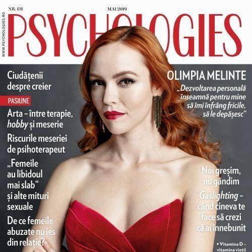 Psychologies Magazine Romania ~~ Coperta: Olimpia Melinte ~~ Mai 2019