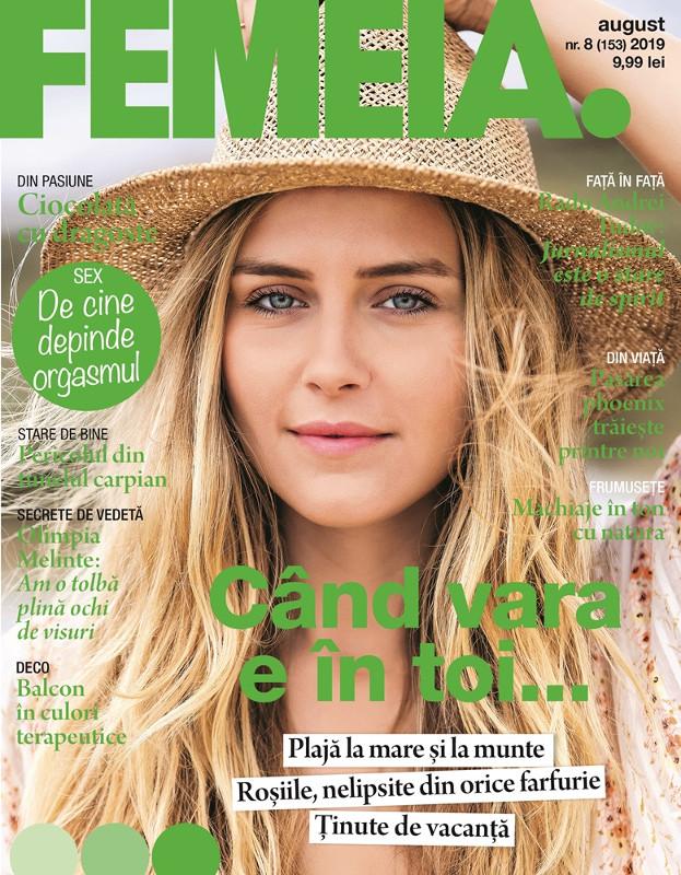 FEMEIA. ~~ Cand vara e in toi ~~ August 2019